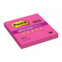 Блок-кубик Post-it Super Sticky 654R-SP, 76х76 розовый,90л.